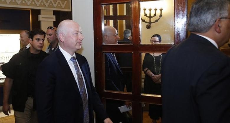 """غرينبلات يغرد عن اتفاق التهدئة في غزة بين """"حماس"""" و""""إسرائيل"""""""