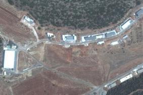قصف إسرائيلي لمطار المزة العسكري بدمشق
