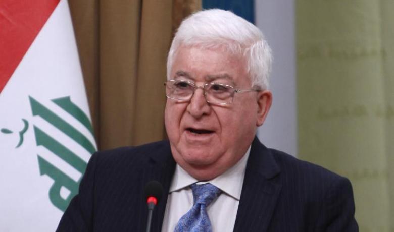 الرئيس العراقي يعلن مبادرة لاحتواء أزمة الاستفتاء