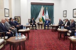 الوفد المصري يطلع عباس على نتائج مباحثاته مع حماس