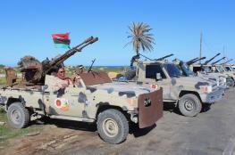 قوات الوفاق تتقدم لمواقع جديدة جنوبي طرابلس