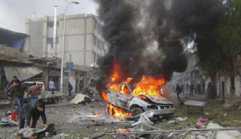 4 قتلى وجرح 13 بانفجار سيارة مفخخة شمال بغداد
