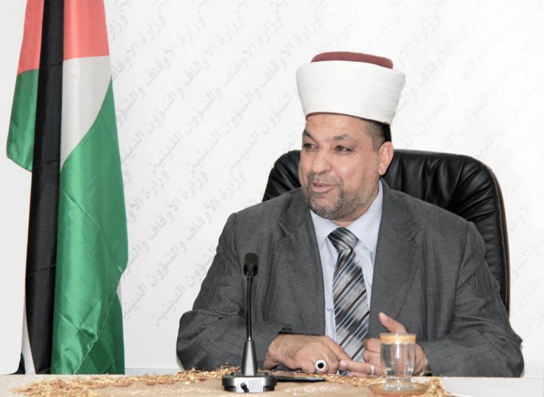 ادعيس يطلع وكيل رئيس شؤون المسجد النبوي على انتهاكات الاحتلال بالأقصى