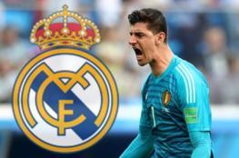 رسميا.. كورتوا في ريال مدريد ل6 سنوات قادمة