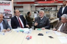 """هنية يتحدث عن اجتماعات القاهرة ويصفها بـ""""الاستراتيجية"""""""