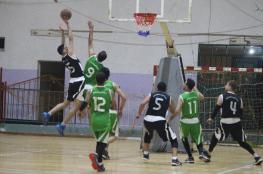 انتصاران لخدمات رفح وغزة الرياضي في دوري السلة