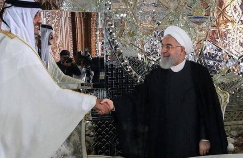 أمير قطر وروحاني يؤكدان أهمية الحوار لحل خلافات المنطقة