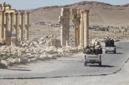تنظيم الدولة ينسحب من تدمر على وقع غارات روسية