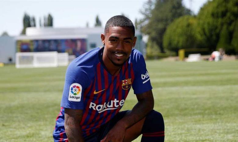برشلونة متخوف من إصابات لاعبه الجديد مالكوم