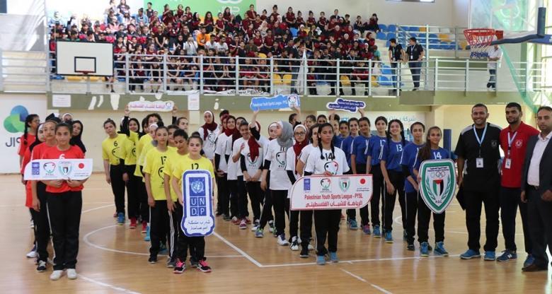 الأولمبية تفتتح بطولة كرة السلة للفتيات