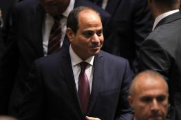السيسي يرفض التدخل الخارجي في ليبيا