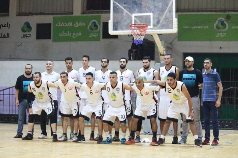 خدمات البريج وسلا المغربي يفتتحان البطولة العربية لكرة السلة