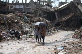 """""""الأونروا"""" تدعم العائلات المتضررة من ظروف الشتاء بالقطاع"""