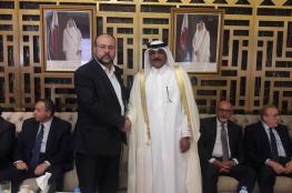 حماس تُعزي السفير القطري في بيروت بوفاة الشيخ خليفة