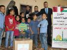 جمعية طيبة توزع طرود غذائية على الأسر المتعففة بغزة