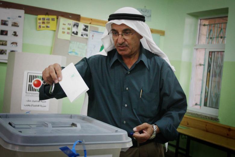 افتتاح مراكز الاقتراع للانتخابات المحلية الإعادة في الضفة الغربية