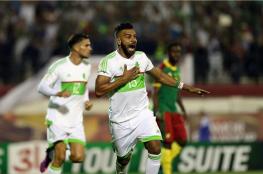 الجزائر تفقد نقطتين أمام الكاميرون