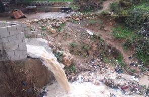 غرق عدة مناطق في الأردن بسبب الأمطار الغزيرة