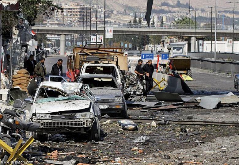مقتل عشرات العراقيين في تفجيرين جنوبي دمشق