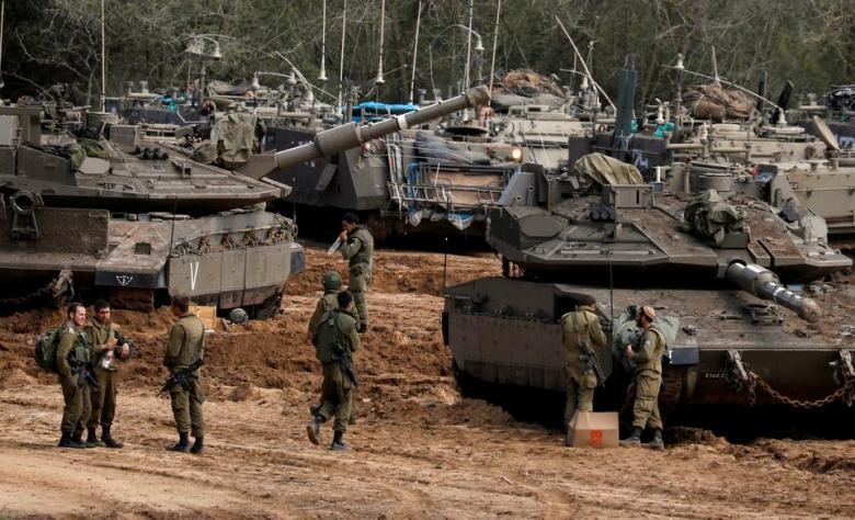 جيش الاحتلال يشرع بتعزيزات عسكرية في غلاف غزة