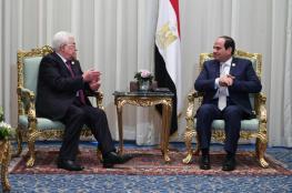عباس يعزي السيسي بضحايا هجوم سيناء