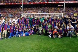 برشلونة يتوج بطلاً لكأس ملك أسبانيا