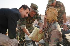 بشار الأسد يظهر في ريف إدلب