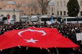 بعد خسارته إسطنبول.. هل يتراجع أردوغان عن تحويل آيا صوفيا إلى مسجد؟