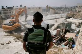 """""""أوتشا"""": عقوبات وعمليات هدم وإصابة فلسطينيين بالأسبوع الماضي"""