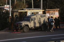إصابة طالب برصاص الاحتلال شمال نابلس