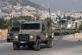 مواجهات بعد صدم جيب إسرائيلي سيارة فلسطينية