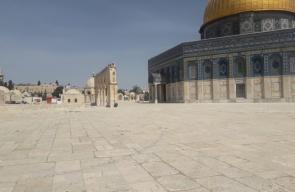 المسجد الأقصى بعد قرار إغلاقه اليوم