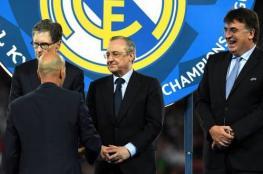 نصف مليار دولار أقنعت زيدان بالعودة لتدريب ريال مدريد