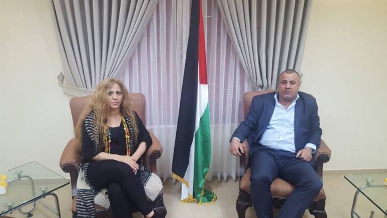 الحصري وقطامي يبحثان تعزيز التعاون بين صندوق التشغيل والصناديق العربية والاسلامية
