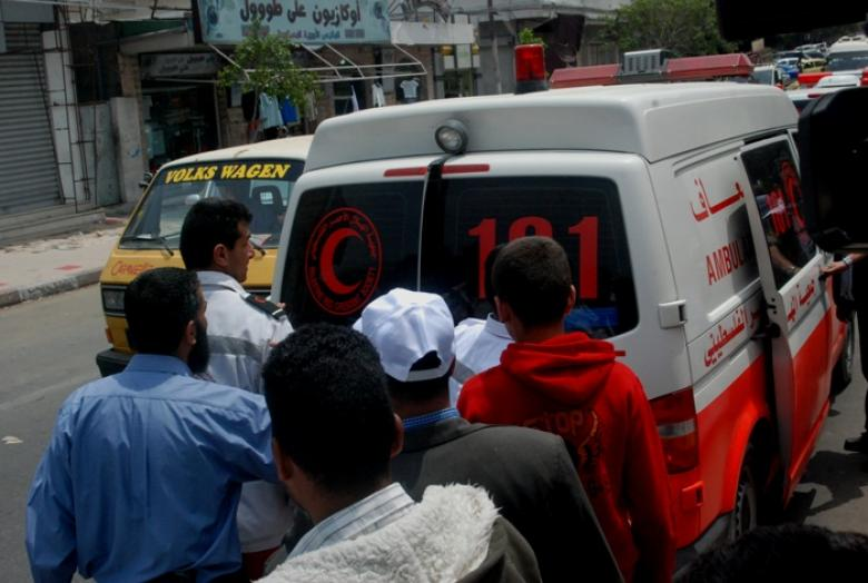 وفاة طفلين إثر سقوطهما في حفرة وسط قطاع غزة