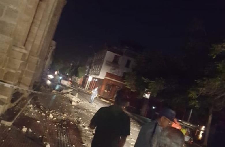 زلزال من 8 درجات يضرب البيرو