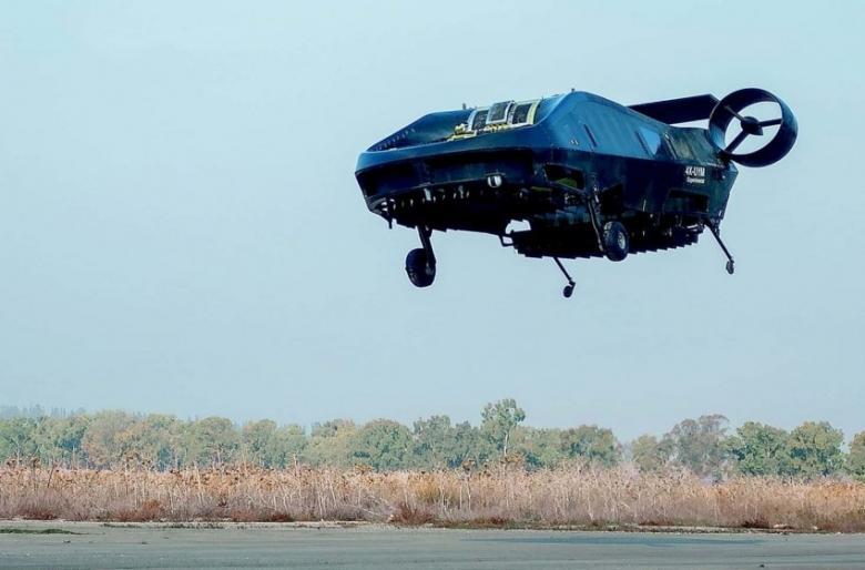 """تعرف على السيارة الطائرة التي تسعى """"إسرائيل"""" لتطويرها"""