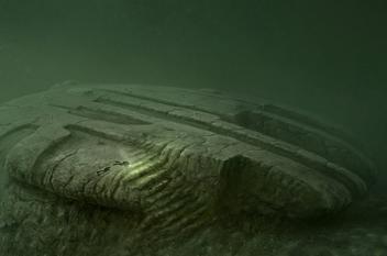 العثور على مركبة فضائية غريبة في بحر البلطيق