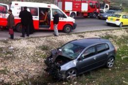 مصرع 5 أشخاص وإصابة 180 في 248 حادث سير خلال أسبوع