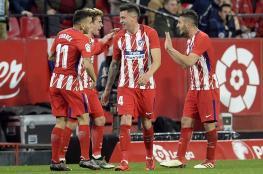 أتلتيكو يهزم ألافيس ويواصل التضييق على برشلونة
