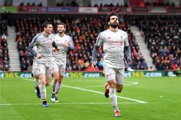 صلاح يقود ليفربول لصدارة الدوري الإنجليزي