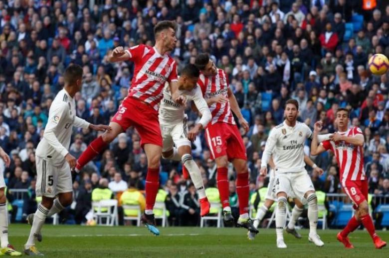 جيرونا يُعطل قطار ريال مدريد في الدوري الإسباني