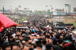 """عدسة """"فلسطين الآن"""" ترصد مليونية العودة"""