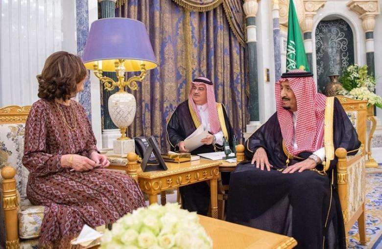 لماذا استقبل مديرة CIA العاهل السعودي بعد يوم من فضيحة تويتر