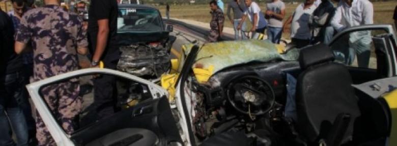 وفاة مسن وإصابة 6 بحادث سير جنوب نابلس