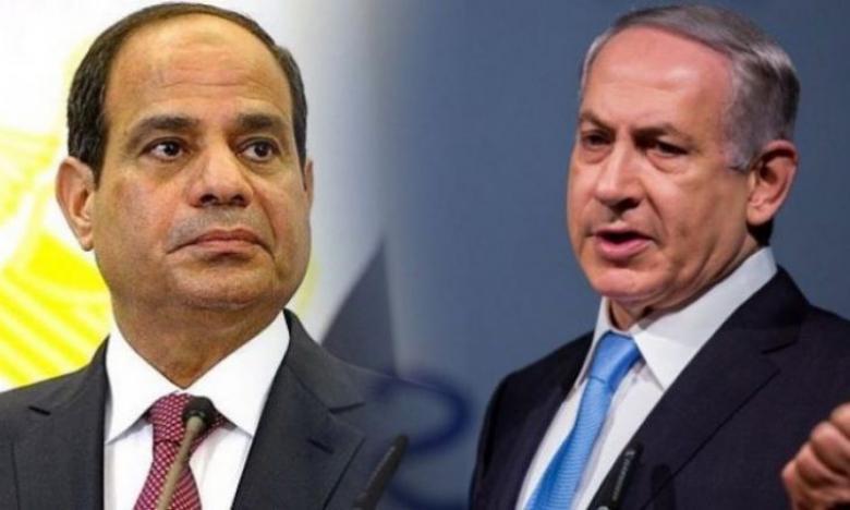 """""""إسرائيل"""".. ورقة بحثية توصي بتطوير العلاقات مع مصر تحت مظلة """"المتوسط"""""""
