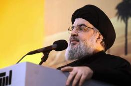 نصر الله يتوعد بتحطيم جيش الاحتلال أمام شاشات التلفزة العالمية