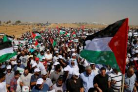 هيئة مسيرات العودة تعلن شعار الجمعة القادمة