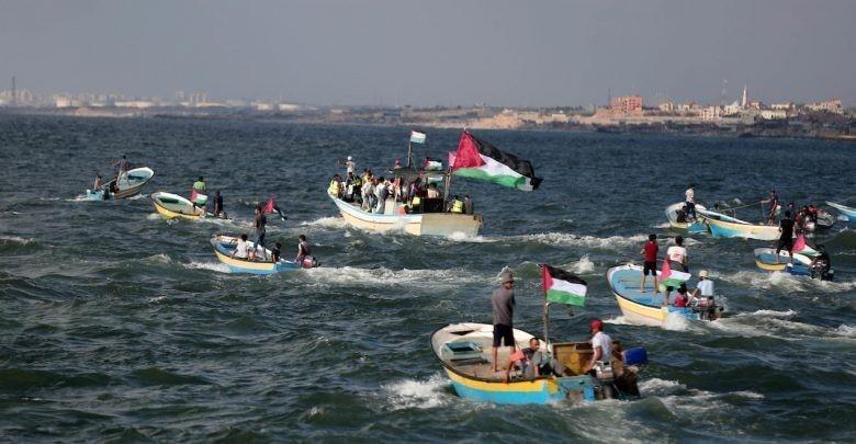 انطلاق المسير البحري الـ15 غداً من شمال غزة