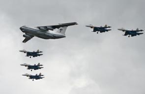 عرض للمقاتلات الروسية بموسـكو